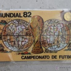 Coleccionismo deportivo: CARNET MUNDIAL 82 CAMPEONATO DE FUTBOL. Lote 44118590