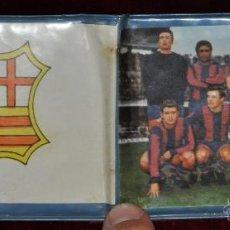 Coleccionismo deportivo: ANTIGUA CARTERA O MONEDERO DEL BARÇA. FUTBOL CLUB BARCELONA. AÑOS 50. Lote 44867359