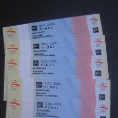 Coleccionismo deportivo: ENTRADAS BARCELONA 92. Lote 44921192