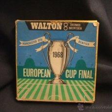 Coleccionismo deportivo: WALTON 8 HOME MOVIES - FINAL COPA DE EUROPA 1968 - MANCHESTER UNITED BENFICA - LEER INTERIOR. Lote 45146599