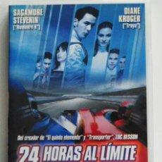 Coleccionismo deportivo: 24 HORAS AL LÍMITE - DVD PELÍCULA ACCIÓN DEPORTE MICHEL VAILLANT LEMANS PILOTO COCHE - DE LUC BESSON. Lote 45260523