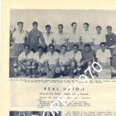 Coleccionismo deportivo: TENERIFE, C.D.TENERIFE., 1950, ORIGINAL DE EPOCA,195X265MM. Lote 45607308