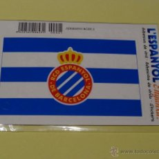 Colecionismo desportivo: RCDE ESPANYOL ADHESIVO 12 X 6 CMS. Lote 45724219