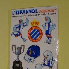Colecionismo desportivo: RCDE ESPANYOL SET ADHESIVOS. Lote 45724332