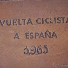 Coleccionismo deportivo: PORTADOCUMENTOS ORIGINAL DE LA VUELTA CICLISTA A ESPAÑA 1965. CICLISMO. VIAJES BIRD. Lote 45877947
