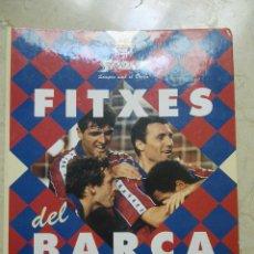 Coleccionismo deportivo: FITXES DEL BARÇA 1993?,JUGADORES. SPORT Y BANCA CATALANA. Lote 45881952
