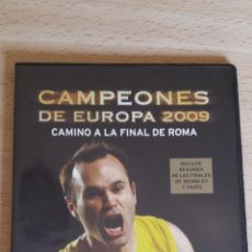 Coleccionismo deportivo: DVD CAMPEONES DE EUROPA 2009. Lote 45942117