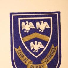 Coleccionismo deportivo: EMBLEMA - PARCHE DE TELA - CLUB DE RUGBY CISNEROS. Lote 46317268
