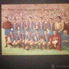 Coleccionismo deportivo: FUTBOL CLUB BARCELONA - PASAPORTE A LA FAMA - AÑO 1953 - FOTOS JUGADORES ETC..- VER FOTOS- (CD-1165). Lote 46355573