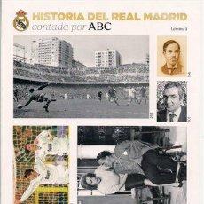 Coleccionismo deportivo: HISTORIA DEL REAL MADRID CONTADA POR ABC. LAMINA 1. Lote 54492684