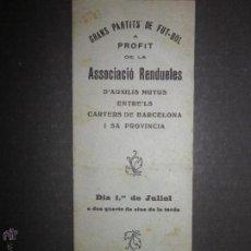 Coleccionismo deportivo: PROGRAMA GRANS PARTITS DE FUT-BOL - AL CAMP VELL DEL F.C. BARCELONA- (CD-1246). Lote 46650540