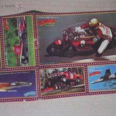 Coleccionismo deportivo: COLECCIÓN COCHES,MOTOS,AVIONES BOMBA DE LA REVISTA PRONTO. Lote 46982111