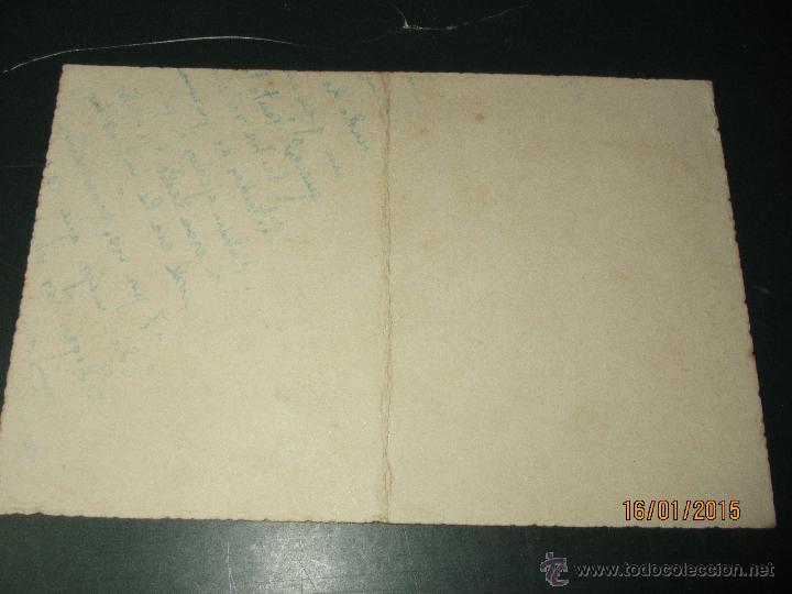 Coleccionismo deportivo: Antigua Tarjeta Cartulina de la Comida Homenaje a Jacinto QUINCOCES del año 1948 - Foto 4 - 47274584