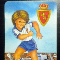 Coleccionismo deportivo: CALENDARIO REAL ZARAGOZA 1985. Lote 47368532