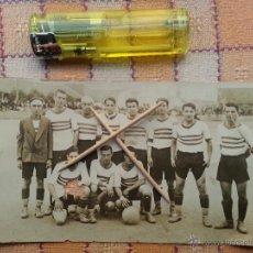 Coleccionismo deportivo: DOCUMENTO GRAFICO FUTBOL BARCELONA - EQUIPO HISTORICO SANS - ANTIGUA FOTOGRAFIA ORIGNAL . Lote 47485455