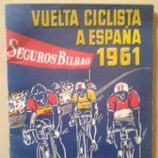 Coleccionismo deportivo: VUELTA CICLISTA A ESPAÑA 1961 - LIBRITO PARA ANOTAR LOS RESULTADOS DE LAS ETAPAS. Lote 47580251