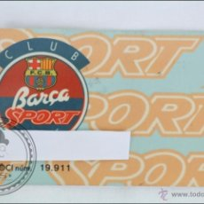 Coleccionismo deportivo: CARNET DEL CLUB JOVE BARÇA SPORT / CF BARCELONA - BANCA CATALANA. Lote 47652267