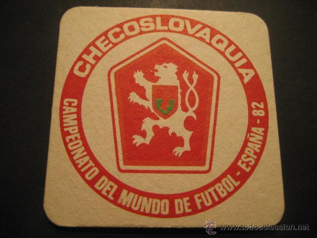 CHECOSLOVAQUIA. POSAVASOS CAMPEONATO MUNDIAL DE FUTBOL ESPAÑA 82 (Coleccionismo Deportivo - Documentos de Deportes - Otros)
