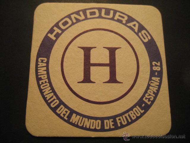 HONDURAS. POSAVASOS CAMPEONATO MUNDIAL DE FUTBOL ESPAÑA 82 (Coleccionismo Deportivo - Documentos de Deportes - Otros)