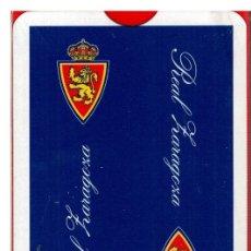 Coleccionismo deportivo: BARAJA POKER REAL ZARAGOZA. Lote 48039192