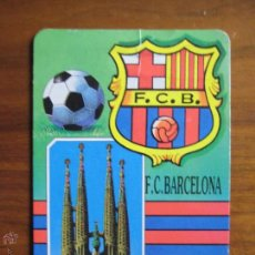 Coleccionismo deportivo: CALENDARIO BOLSILLO BARÇA 1993 FC BARCELONA SAGRADA FAMILIA. Lote 48210290