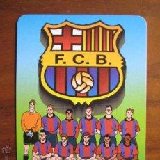 Coleccionismo deportivo: CALENDARIO BOLSILLO BARÇA 2001 ESCUDO FC BARCELONA. Lote 48210359