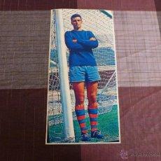 Coleccionismo deportivo: SADURNI (F.C.BARCELONA) 1968 -MEDIDAS (14CM X 28CM)BARÇA-IMPRESIÓN FOTOGRÁFICA.. Lote 48629532