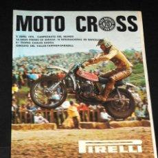 Coleccionismo deportivo: FOLLETO XIV GRAN PREMIO DE ESPAÑA 1975. Lote 48661152