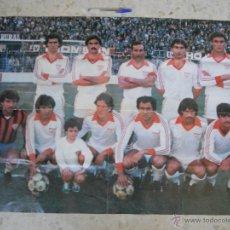 Coleccionismo deportivo: POSTER GIGANTE SEVILLA FC.. Lote 49475336