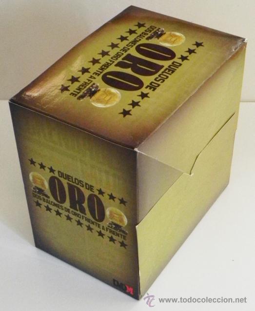 Coleccionismo deportivo: DUELOS DE ORO 13 DVDS COLECCIÓN COMPLETA FÚTBOL DEPORTE DVD PELÉ DI STÉFANO RONALDO ZIDANE MARADONA - Foto 5 - 49556094