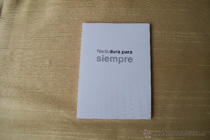 NADA DURA PARA SIEMPRE CARNET MADRIDISTA (Coleccionismo Deportivo - Documentos de Deportes - Otros)