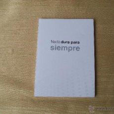 Coleccionismo deportivo: NADA DURA PARA SIEMPRE CARNET MADRIDISTA . Lote 49828543