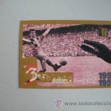 Coleccionismo deportivo: FICHA TECNICA DEL BARÇA -COPA DE ESPAÑA - 1958 - 1959 -. Lote 50085694