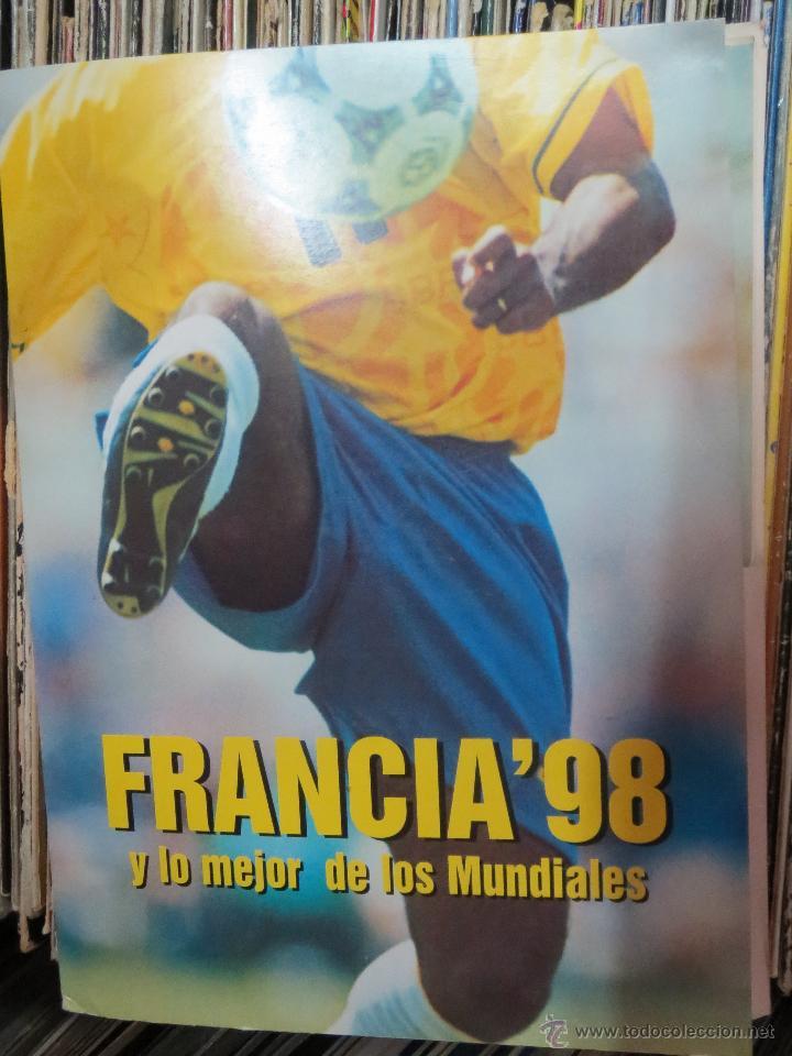 CARPETA QUINCE FASCICULOS FRANCIA'98 Y LO MEJOR DE LOS MUNDIALES. (Coleccionismo Deportivo - Documentos de Deportes - Otros)