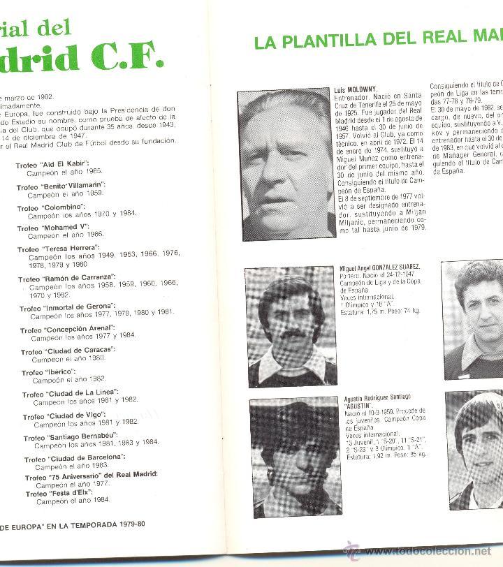 Coleccionismo deportivo: PROGRAMA DEL PARTIDO REAL MADRID - AEK ATENAS. COPA UEFA 1985. Envío: 1,30 € *. - Foto 3 - 49842284