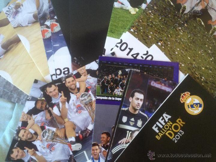 LOTE COLECCIÓN POSTERS REAL MADRID (Coleccionismo Deportivo - Documentos de Deportes - Otros)