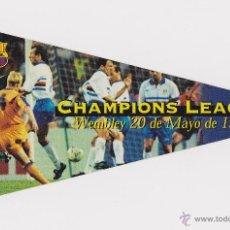 Coleccionismo deportivo: PEGATINA ORIGINAL FC BARCELONA CAMPEON COPA EUROPA 1992 DIARIO SPORT (TAMAÑO 15X26 CM). Lote 50373210