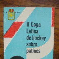 Coleccionismo deportivo: II COPA LATINA HOCKEY SOBRE PATINES. BARCELONA, 1961.. Lote 50444646
