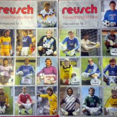 Coleccionismo deportivo: PUBLICIDAD REUSCH GLOVES GOALKEEPER FOOTBALL SCHUMACHER MAIER KÖPKE PUMPIDO. Lote 50532252