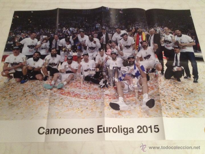 Coleccionismo deportivo: Lote colección posters Real Madrid - Foto 4 - 57631917