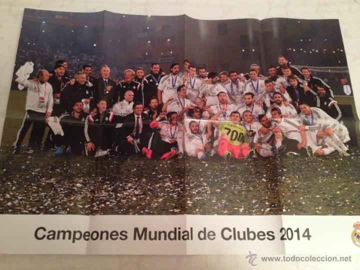 Coleccionismo deportivo: Lote colección posters Real Madrid - Foto 7 - 57631917