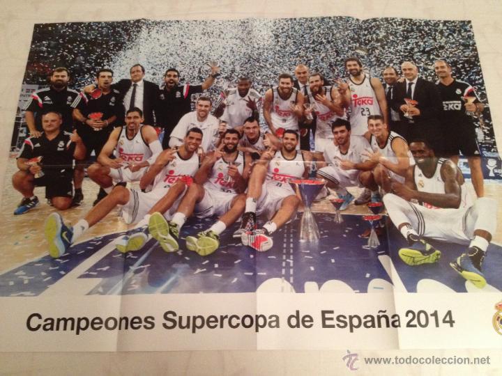 Coleccionismo deportivo: Lote colección posters Real Madrid - Foto 9 - 57631917