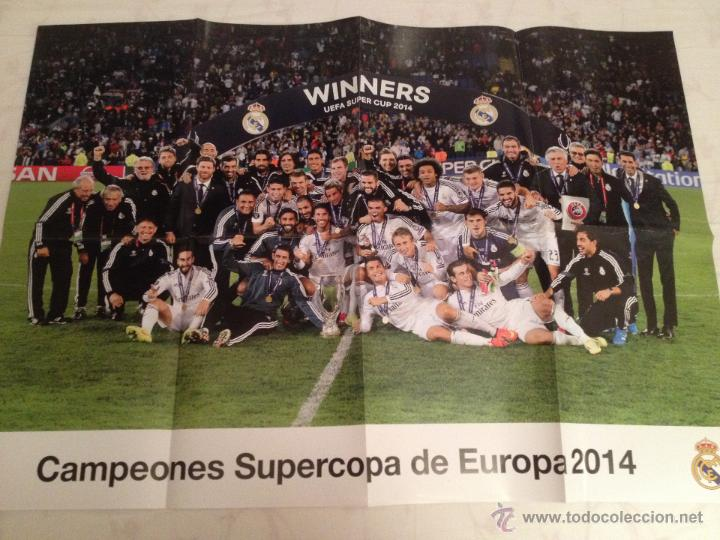 Coleccionismo deportivo: Lote colección posters Real Madrid - Foto 11 - 57631917