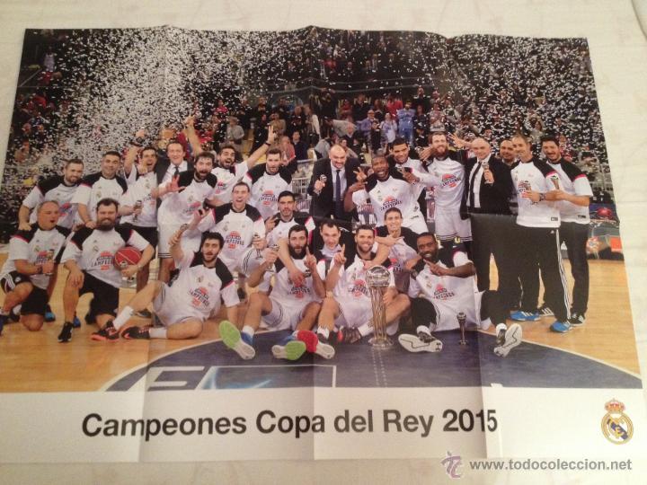 Coleccionismo deportivo: Lote colección posters Real Madrid - Foto 12 - 57631917