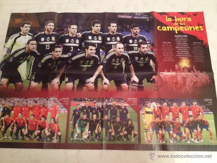 Coleccionismo deportivo: Lote colección posters Real Madrid - Foto 13 - 57631917
