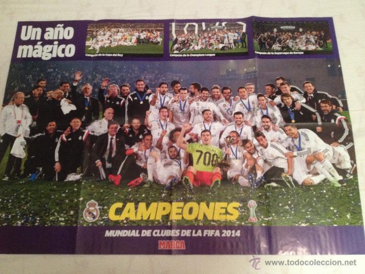 Coleccionismo deportivo: Lote colección posters Real Madrid - Foto 15 - 57631917