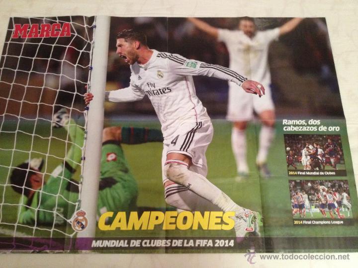 Coleccionismo deportivo: Lote colección posters Real Madrid - Foto 16 - 57631917