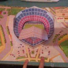 Coleccionismo deportivo: AMPLIACIÓ CAMP NOU 3D FCB BARÇA 1994. Lote 51792531