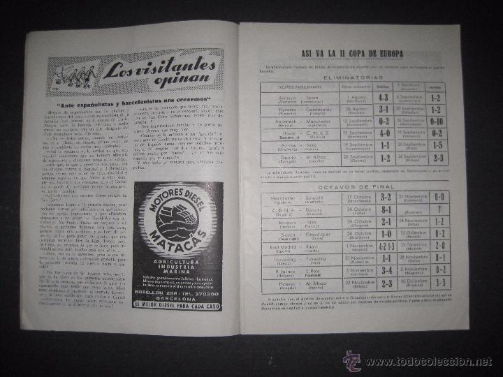Coleccionismo deportivo: R.C.D. ESPAÑOL - PROGRAMA PARIDO VALENCIA ESPAÑOL - AÑO 1956- 57 - VER FOTOS -( V-3302 ) - Foto 4 - 52299584