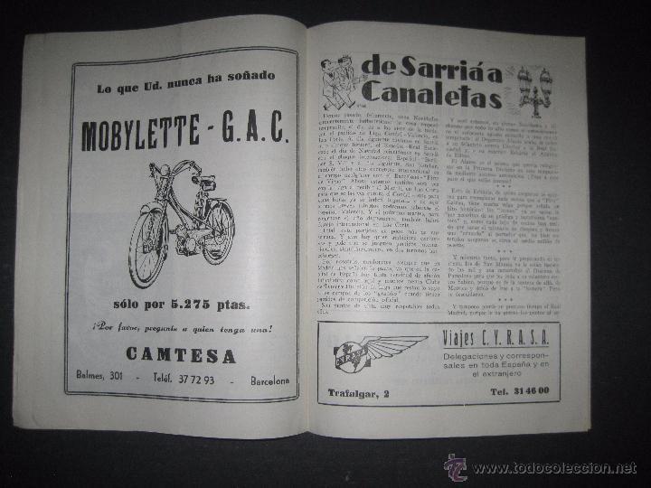 Coleccionismo deportivo: R.C.D. ESPAÑOL - PROGRAMA PARIDO VALENCIA ESPAÑOL - AÑO 1956- 57 - VER FOTOS -( V-3302 ) - Foto 9 - 52299584